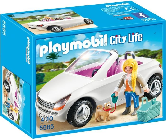 Home gt playmobil gt city life gt 5585 playmobil cabrio