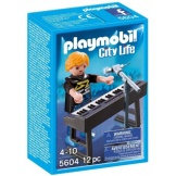 5604 Playmobil Popstars Keyboard