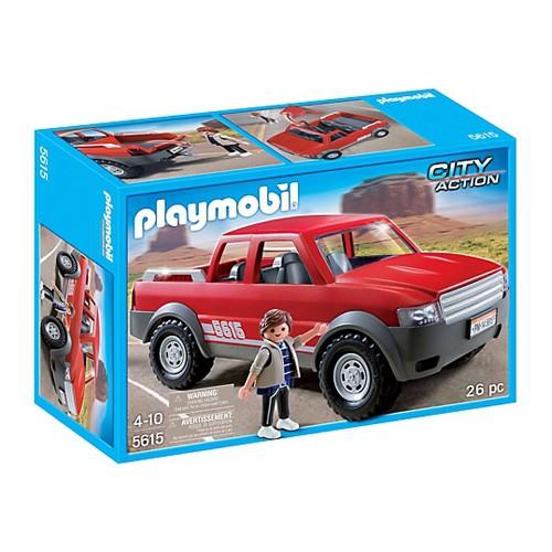 5615 playmobil pick up auto. Black Bedroom Furniture Sets. Home Design Ideas