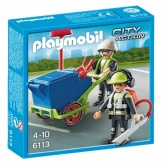 6113 Playmobil Team Stadsreinigers