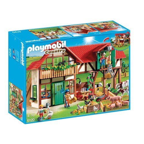 6120 Playmobil Grote Boerderij