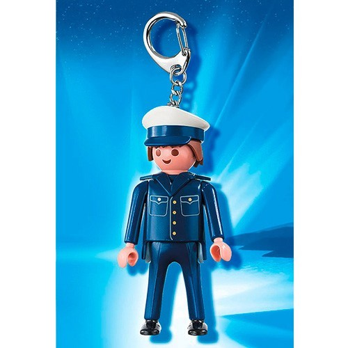 6615 Playmobil Sleutelhanger Politieagent