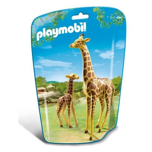 6640 Playmobil Giraf met jong