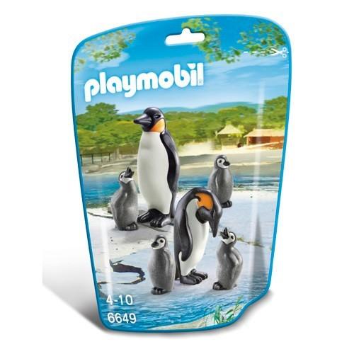 6649 Playmobil Pinguins met jongen
