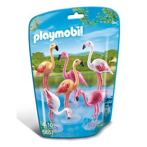 6651 Playmobil Groep Flamingo's