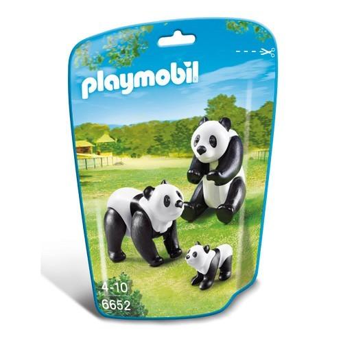 6652 Playmobil Panda's met baby