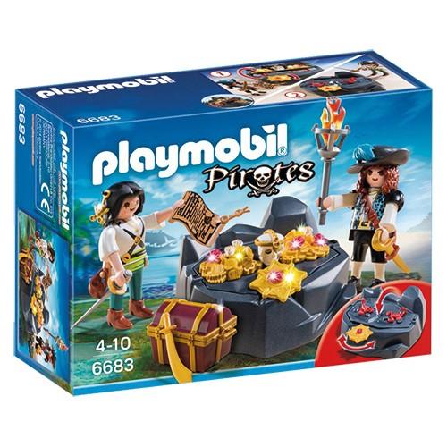 6683 Playmobil Koninklijke schatkist met piraat