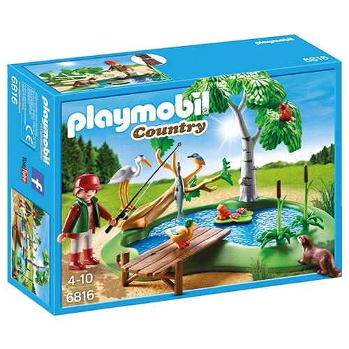 6816 playmobil visvijver voordelig online kopen