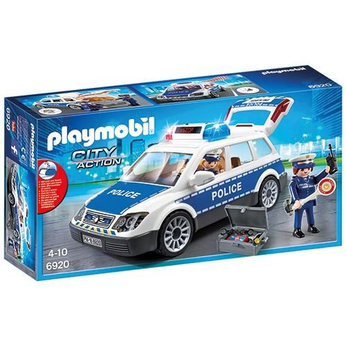 6920 Playmobil Politiepatrouille met licht