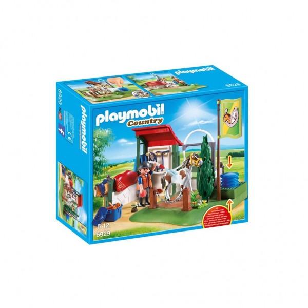 Playmobil Country Horse Grooming Station Multi kleuren speelgoedfiguur kinderen