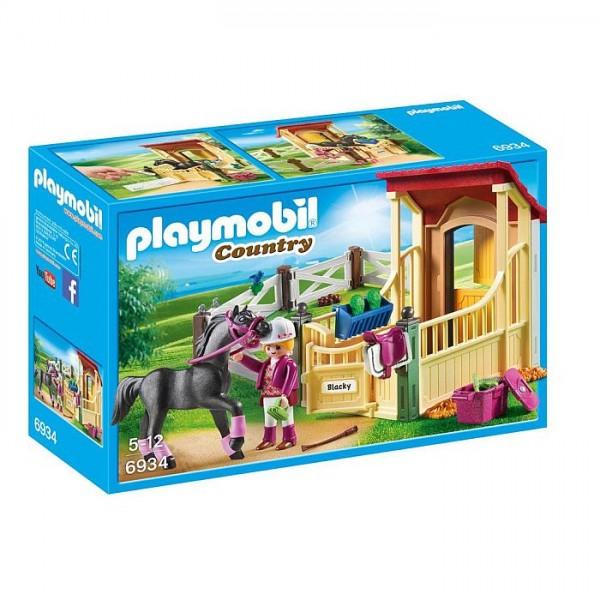 6934 Playmobil Arabier met Paardenbox