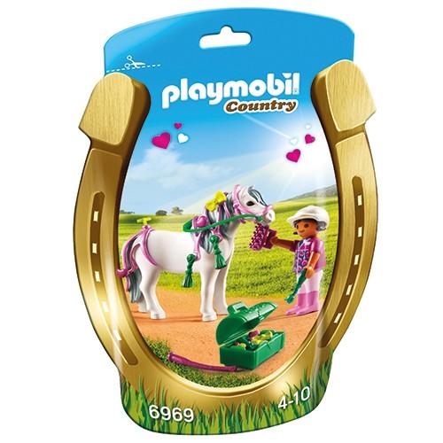 6969 Playmobil Pony om te versieren Hart