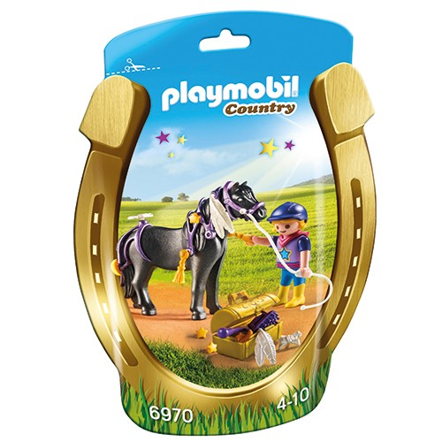 6970 Playmobil Pony om te versieren Ster