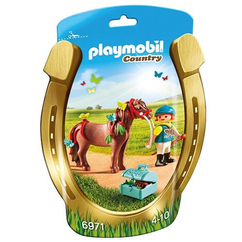 6971 Playmobil Pony om te versieren Vlinder