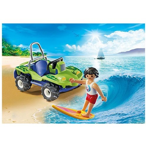 6982 Playmobil Surfer Met Strandbuggy