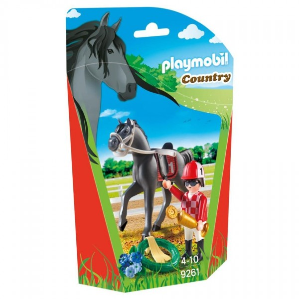 9261 Playmobil Jockey