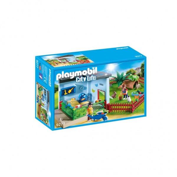 9277 Playmobil Knaagdierenverblijf