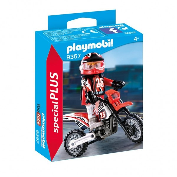 9357 Playmobil Motorcrosser