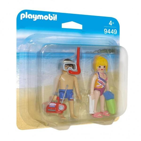 Playmobil Figures 9449 Jongen-meisje set speelgoedfiguren kinderen