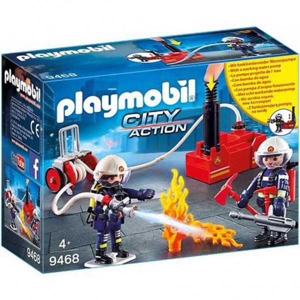 9468 Playmobil Brandweerteam Met Waterpomp