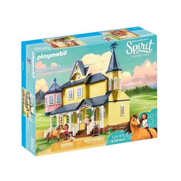 9475 Playmobil Spirit Lucky's Huis
