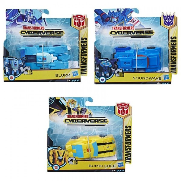 Transformers Cyberverse 1 Set