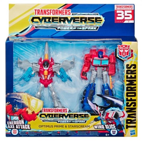 Transformers Optimus + Starscream