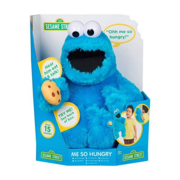 Cookie Monster Me So Hungry B/O