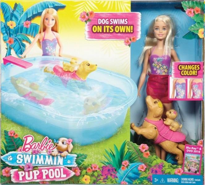 Barbie Puppy Zwembad