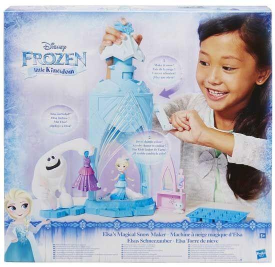 Frozen Mini Poppetjes Sneeuwmachine