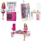 Barbie Kamer met pop