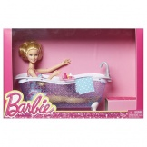 Barbie pop met meubel