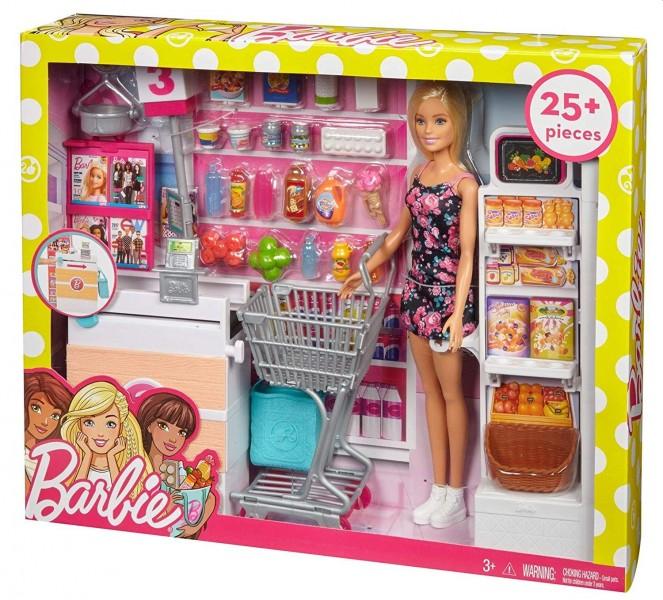 Barbie Supermarkt