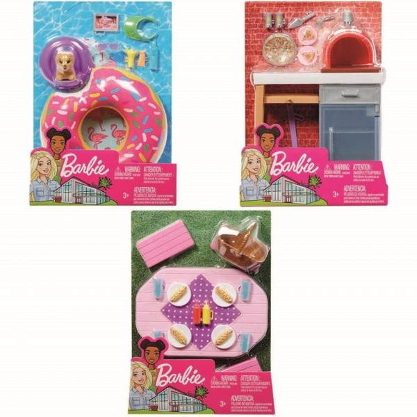 Barbie Möbel-Spielset Outdoor