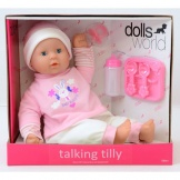 Dolls World Pop 46cm Talking Tilly
