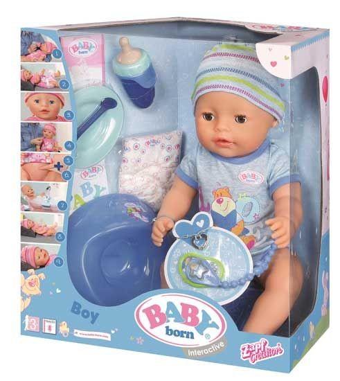 Baby Born Interactieve Pop Jongen