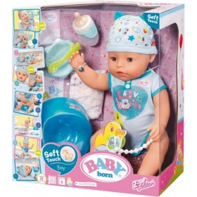 Baby Born Soft Touch Jongen