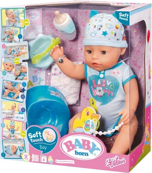 Baby Born Soft Touch Jongen