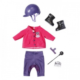 Baby Born Kleding Luxe Ponyrijd Outfit