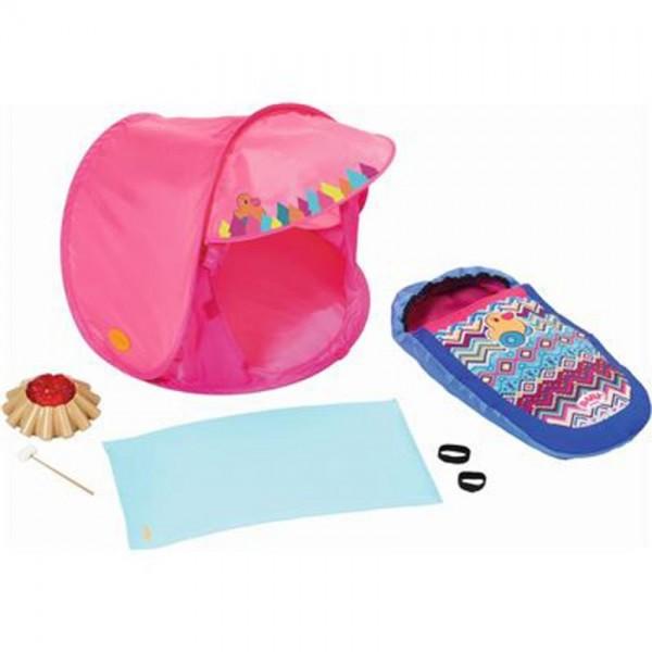 BABY born Play & Fun Campingset roze 5 delig
