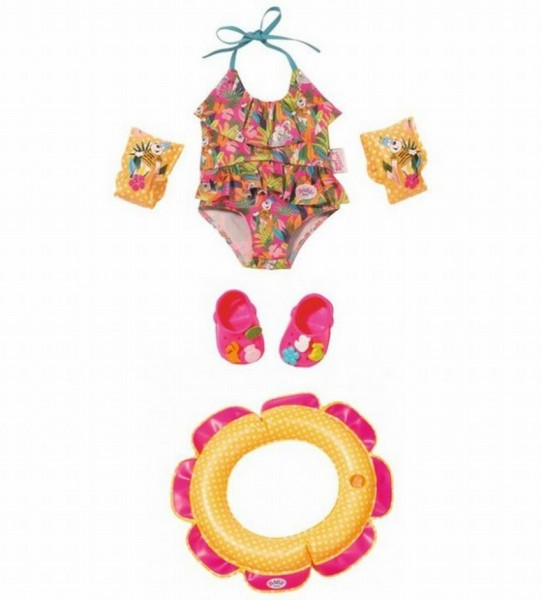 Baby Born deluxe swim fun set