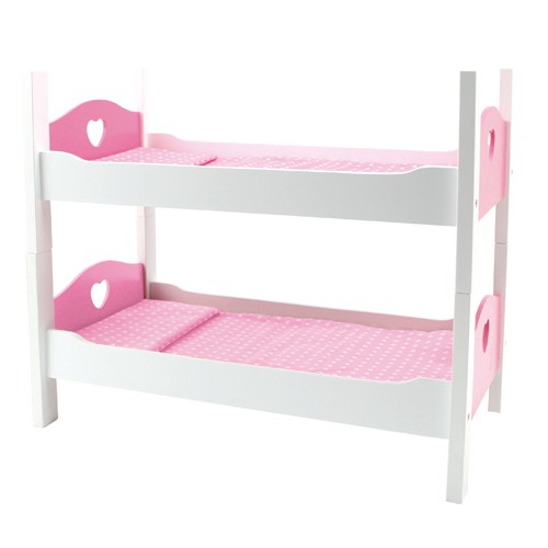 Poppenmeubel stapelbed 50x27x42cm