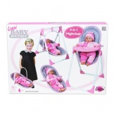 Poppenstoel Lissi Baby Boutique 4 in 1