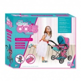Poppenwagen 3 In 1 Dolls Room
