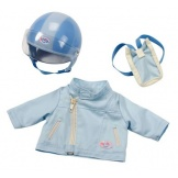 Baby born kleding scooterset