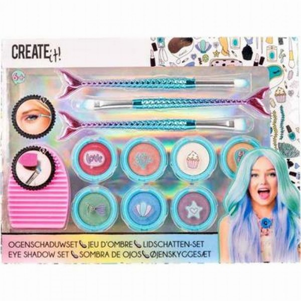 Create It! oogschaduwset Eye Shadow meisjes 11 delig
