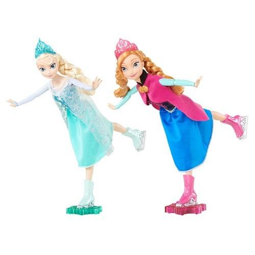 Frozen Schaatsende Anna of Elsa