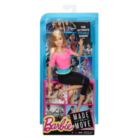 Barbie Made to Move pop (Pink Top)