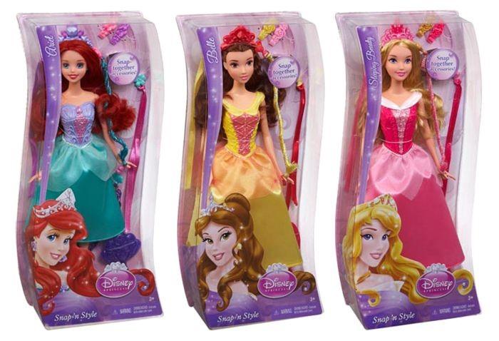 Disney Princess Haarpop Snap N Style