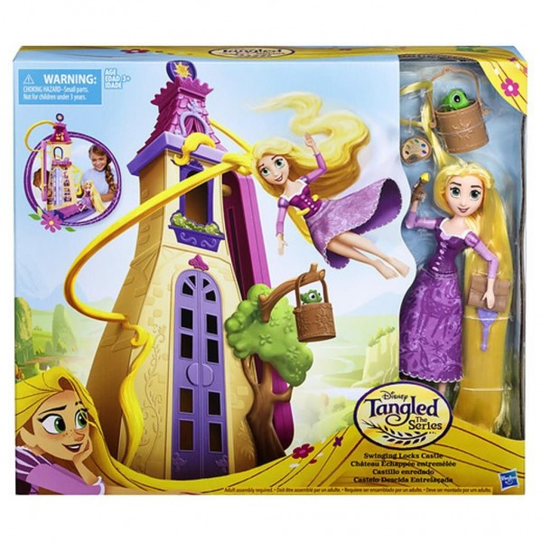 Disney Princess Tangled Zwaaiende Lokken Kasteel